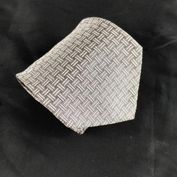 72ac85774c97 Lauren Ralph Lauren Other - Ralph Lauren green label silver woven neck tie